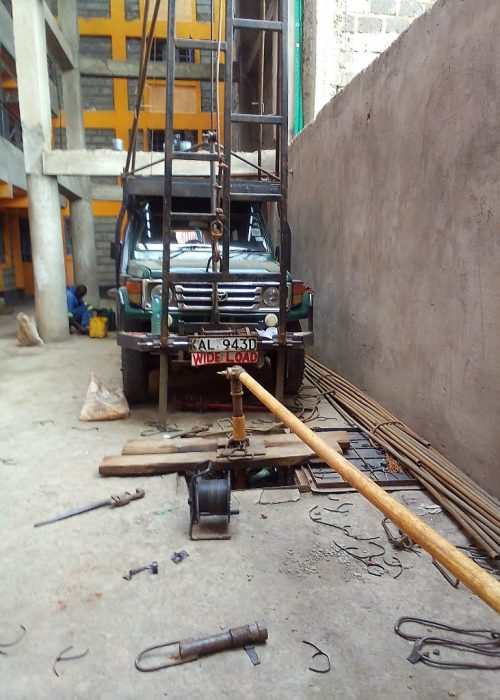 Borehole Servicing, Utawala Nairobi