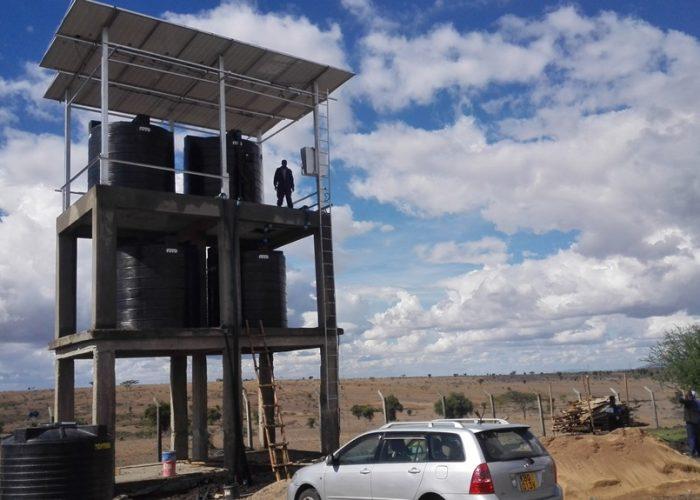 Florence Onditi borehole, Kajiado County